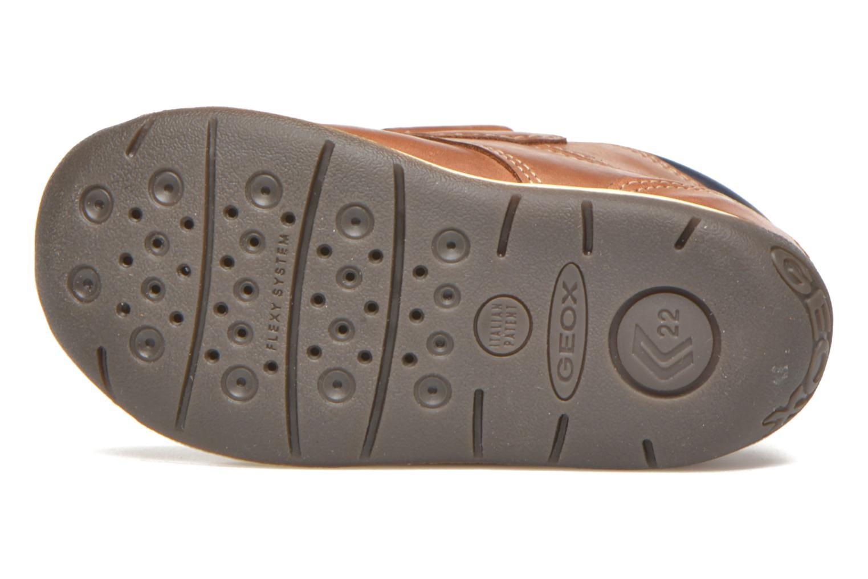 Chaussures à scratch Geox B Each B. B B640BB Marron vue haut