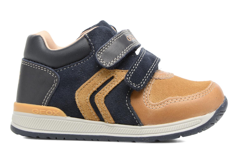 Sneakers Geox B Rishon B. A B640RA Marrone immagine posteriore