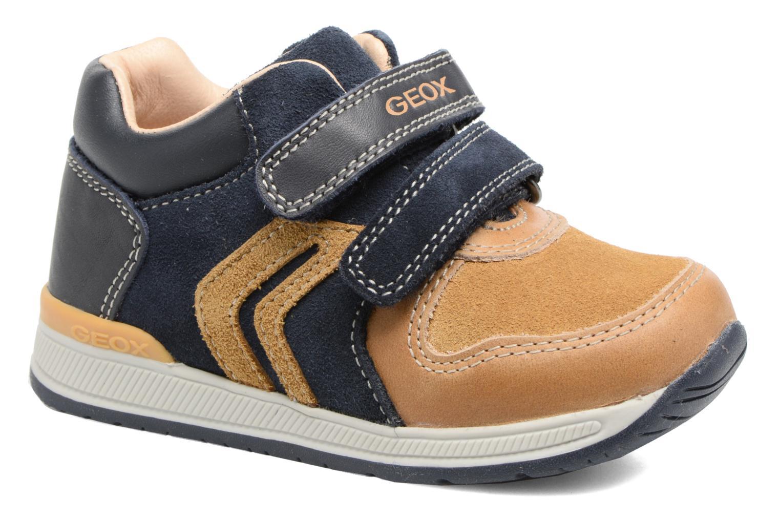 Sneakers Geox B Rishon B. A B640RA Marrone vedi dettaglio/paio