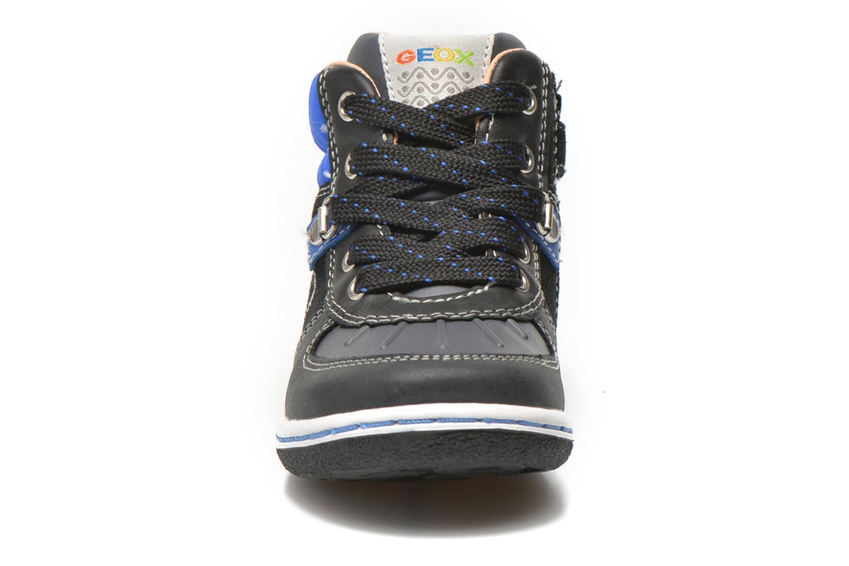 Baskets Geox B Flick B. E B6437E Noir vue portées chaussures