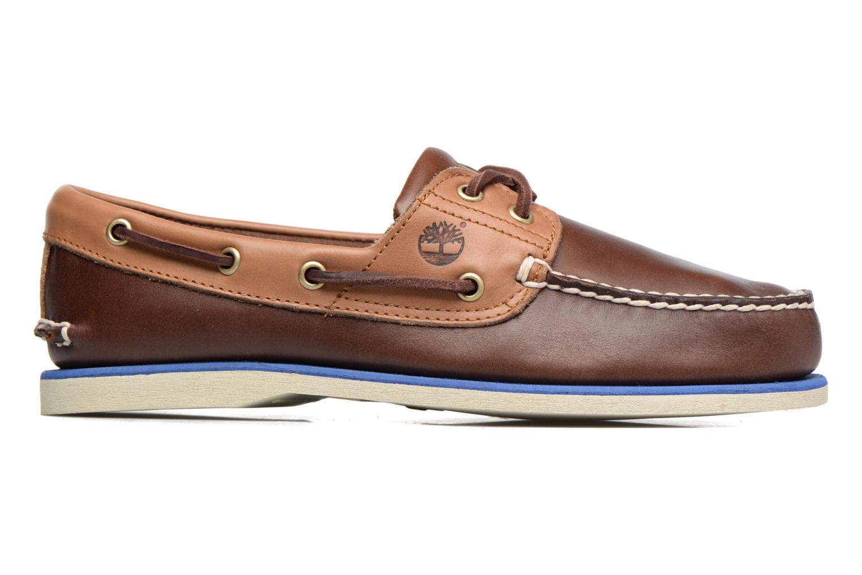 Chaussures à lacets Timberland Classic Boat 2 Eye Marron vue derrière
