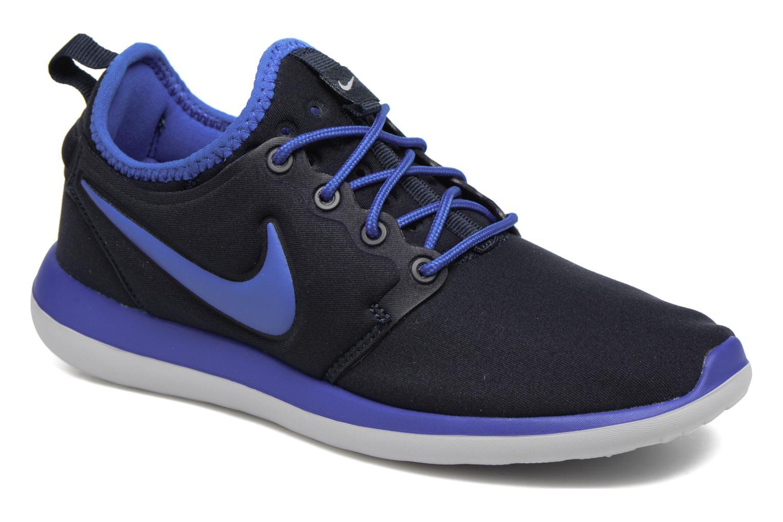Nike Roshe Two (Gs) Dark Obsidian/Hyper Cobalt-Wolf Grey