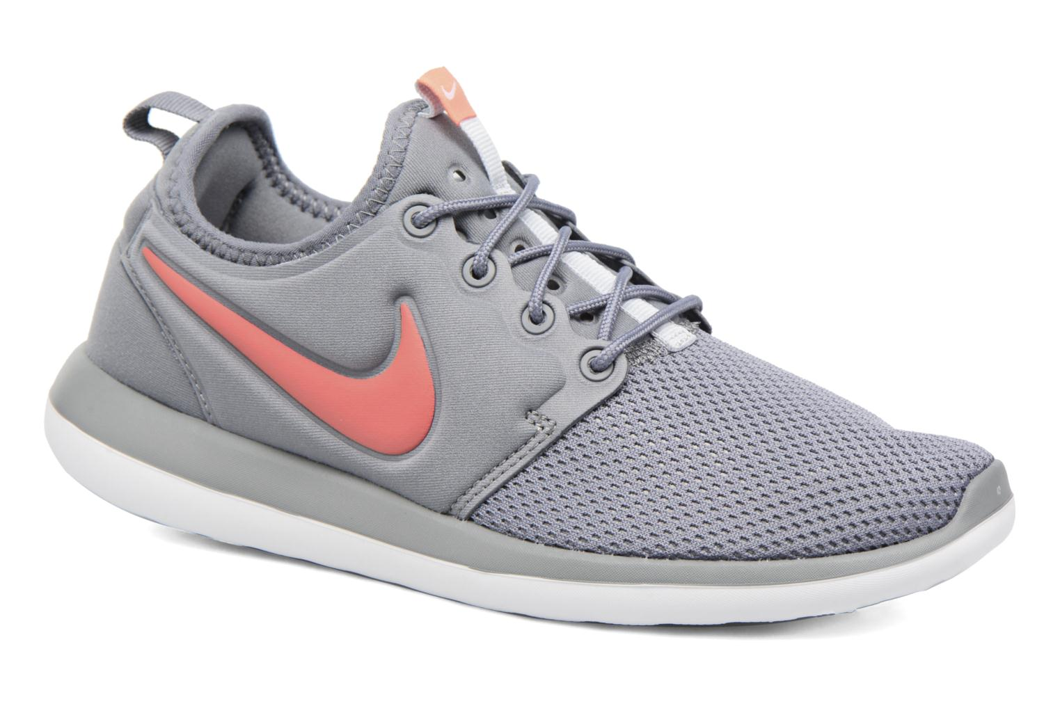 Nike Roshe Two (Gs) Cool Grey/Lava Glow-Pure Platinum-White