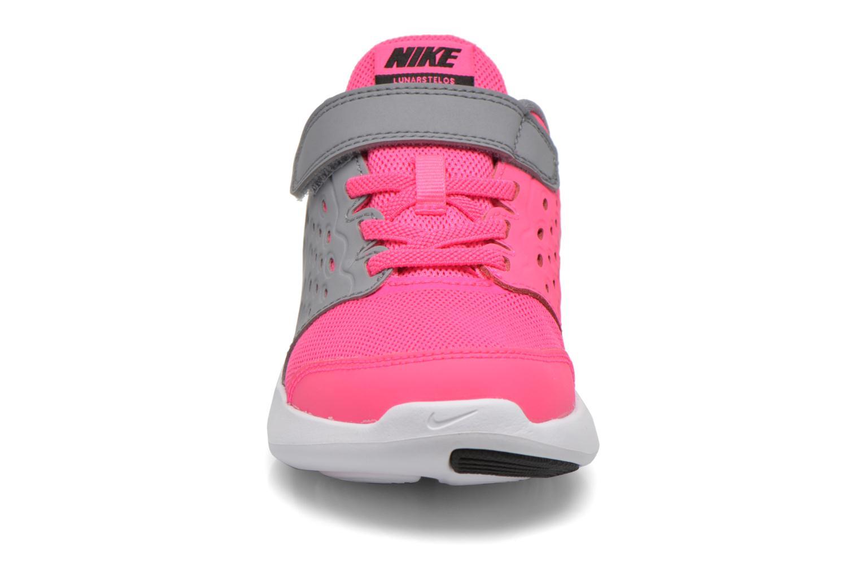 Baskets Nike Nike Lunarstelos (Psv) Rose vue portées chaussures