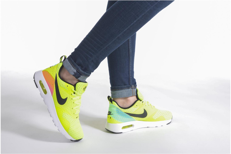 Nike Air Max Tavas Fb (Gs) Volt Black-Pink Blast-Ttl Orng