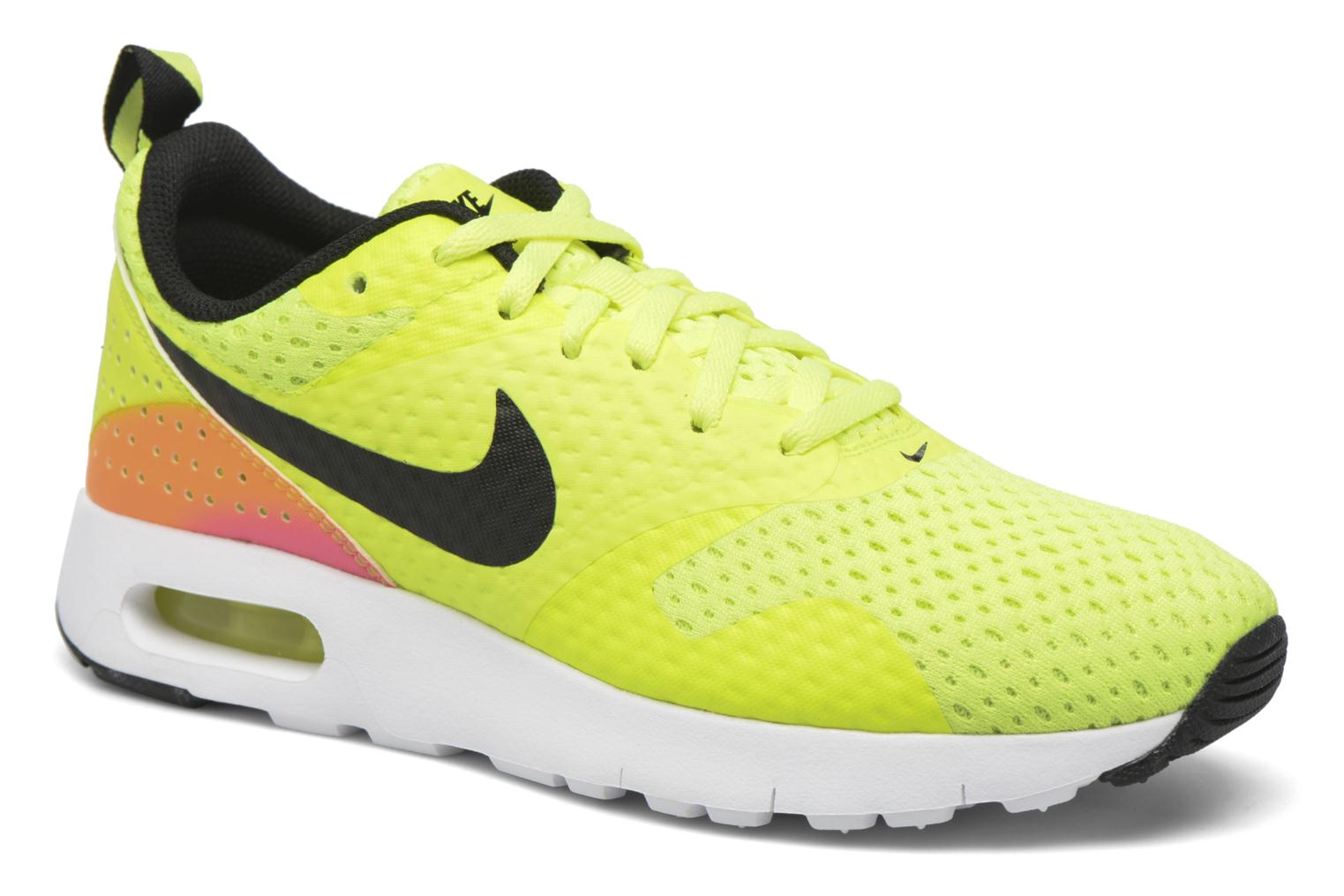 Baskets Nike Nike Air Max Tavas Fb (Gs) Jaune vue détail/paire
