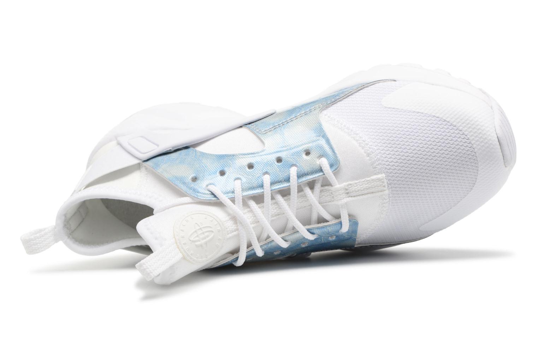Baskets Nike Nike Air Huarache Run Ultra Gs Blanc vue gauche