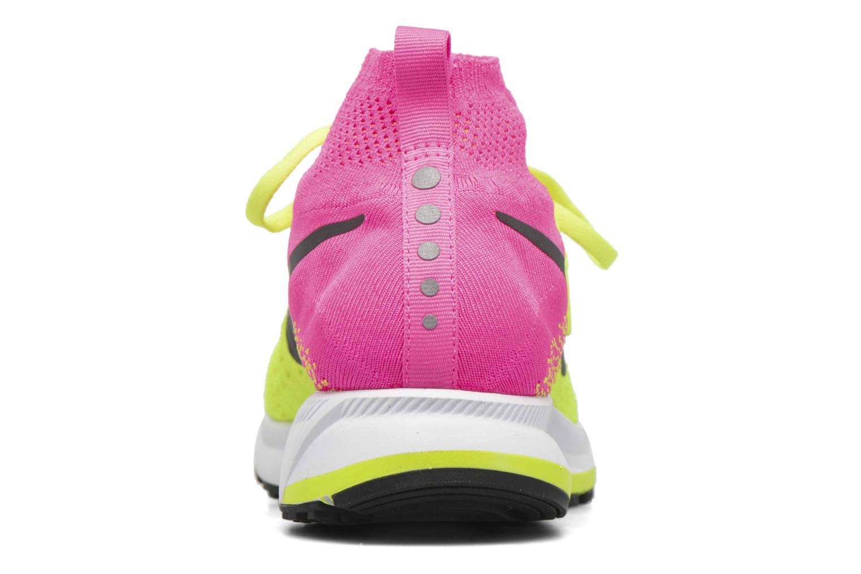 Baskets Nike Zm Peg All Out Flyknit Oc Gs Noir vue droite