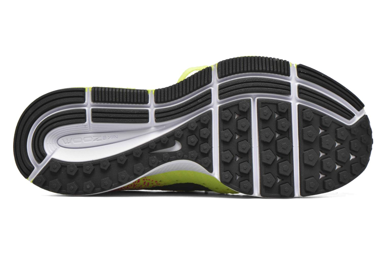 Baskets Nike Zm Peg All Out Flyknit Oc Gs Noir vue haut