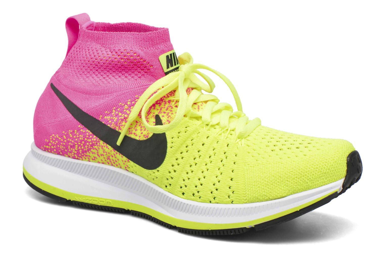 Baskets Nike Zm Peg All Out Flyknit Oc Gs Noir vue détail/paire
