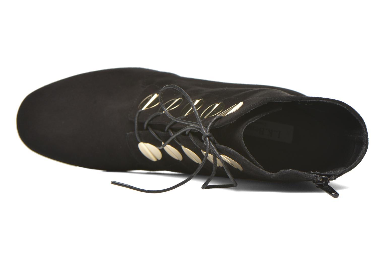 Bottines et boots L.K. Bennett YOLANDA Noir vue gauche