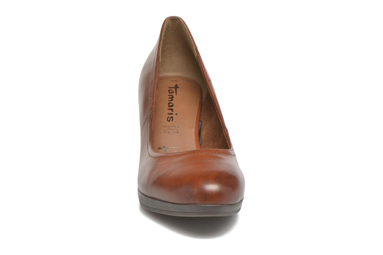 Escarpins Tamaris Blanchetti Marron vue portées chaussures