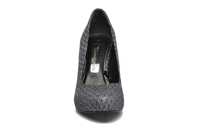 Escarpins Tamaris Aloe Argent vue portées chaussures