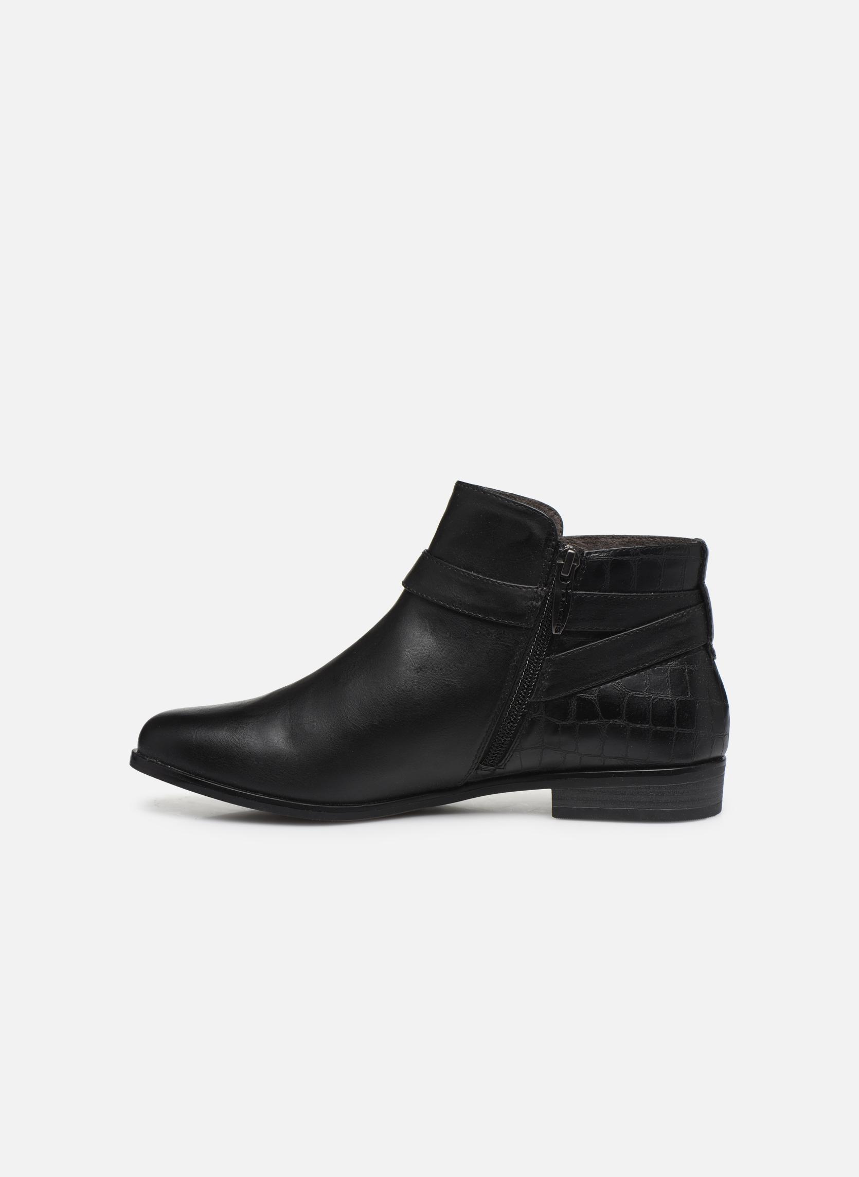 Bottines et boots Tamaris Carica Noir vue face
