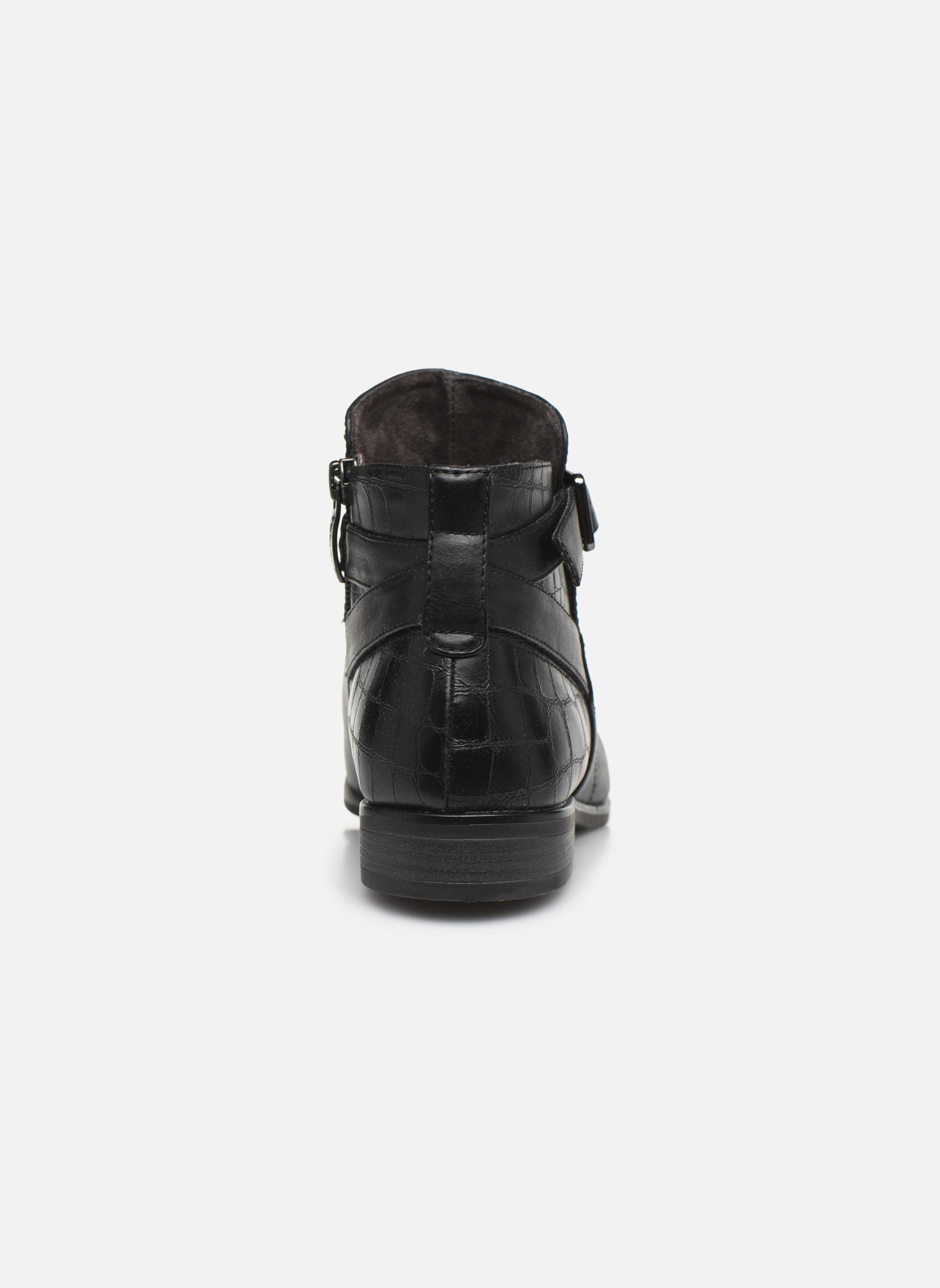 Bottines et boots Tamaris Carica Noir vue droite