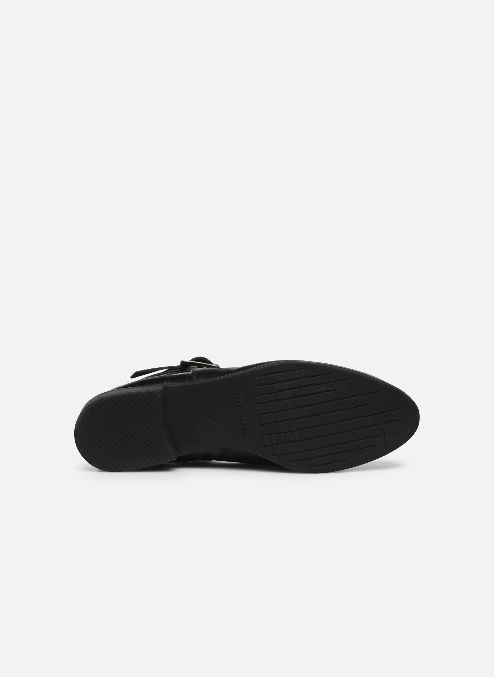 Bottines et boots Tamaris Carica Noir vue haut