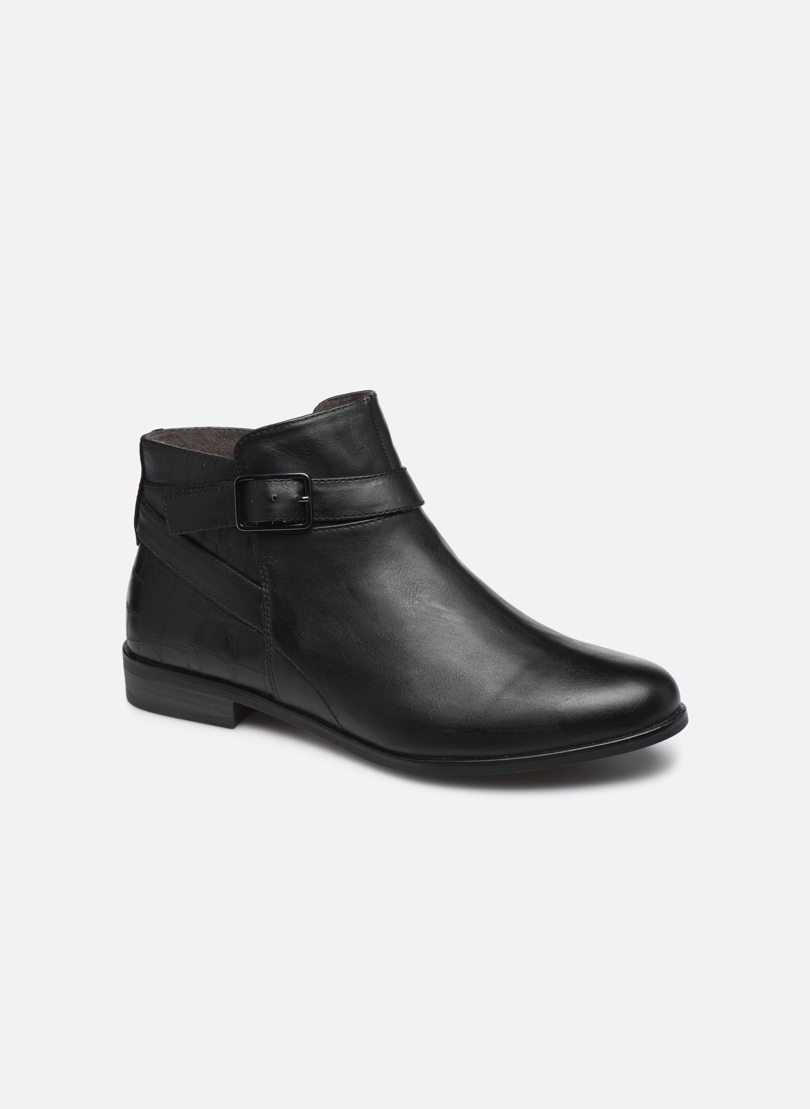 Bottines et boots Tamaris Carica Noir vue détail/paire