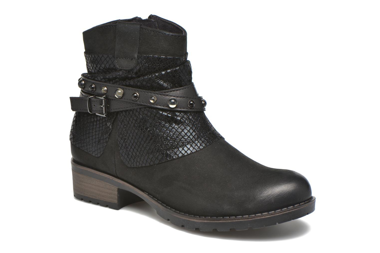 Bottines et boots Tamaris Dietes Noir vue détail/paire