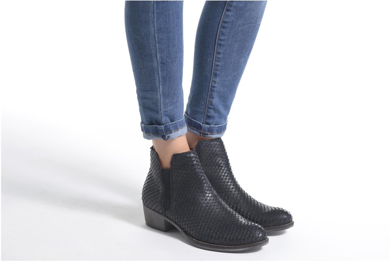 Bottines et boots Tamaris Gasteria Noir vue bas / vue portée sac