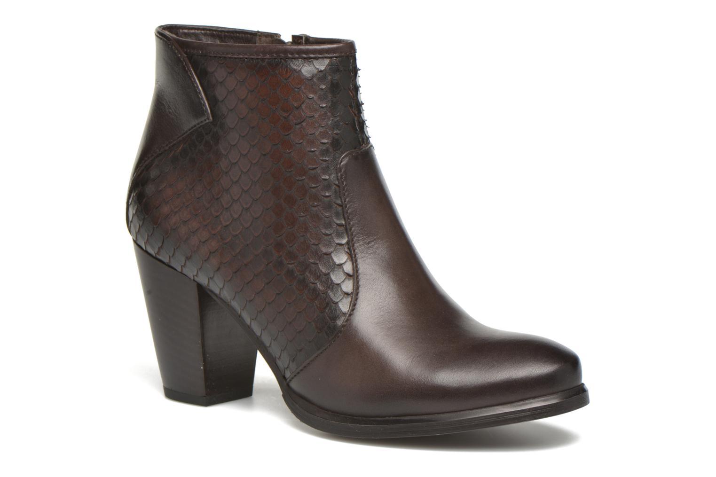 Bottines et boots Tamaris Lycoris Marron vue détail/paire