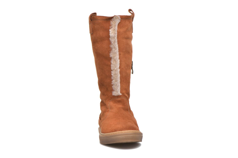 Bottes Tamaris Ravenala Marron vue portées chaussures