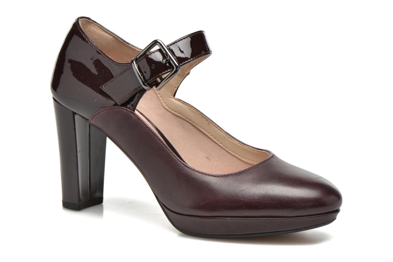 Kendra Gaby Aubergine Combi Leather