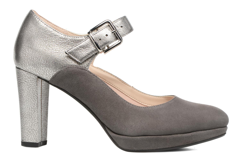 Zapatos de tacón Clarks Kendra Gaby Gris vistra trasera