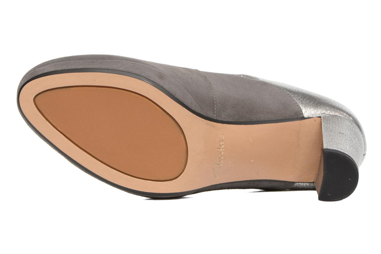Zapatos de tacón Clarks Kendra Gaby Gris vista de arriba