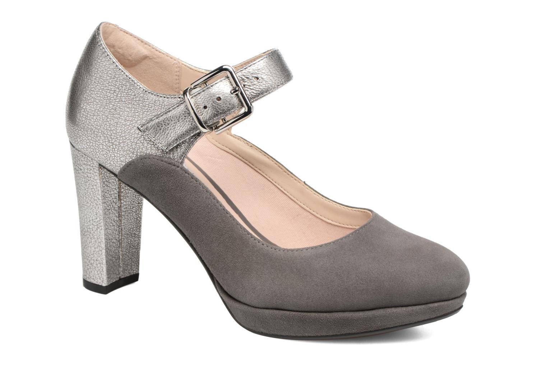 Zapatos de tacón Clarks Kendra Gaby Gris vista de detalle / par