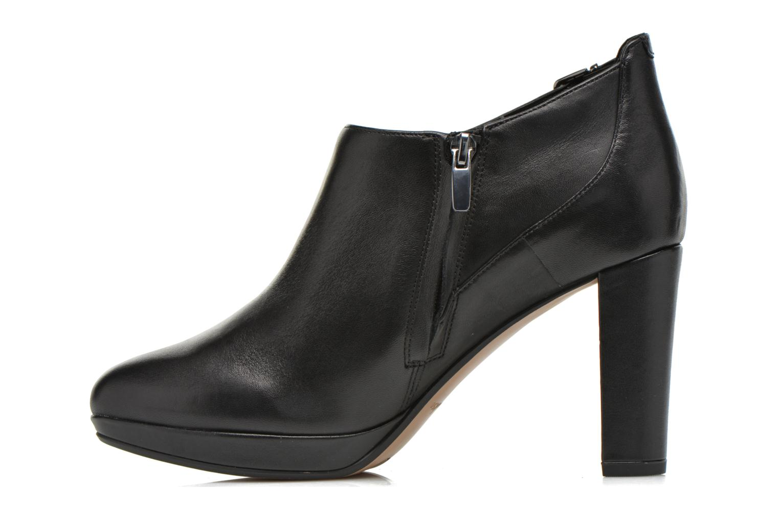Kendra Spice Black leather