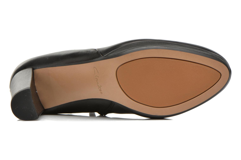 Bottines et boots Clarks Kendra Spice Noir vue haut
