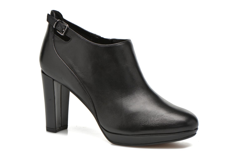 Bottines et boots Clarks Kendra Spice Noir vue détail/paire