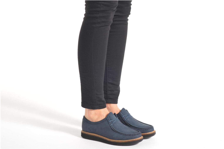 Chaussures à lacets Clarks Glick Bayview Noir vue bas / vue portée sac