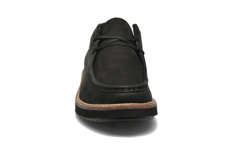 Chaussures à lacets Clarks Glick Bayview Noir vue portées chaussures