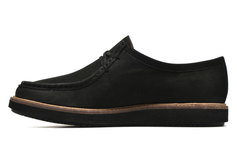 Chaussures à lacets Clarks Glick Bayview Noir vue face
