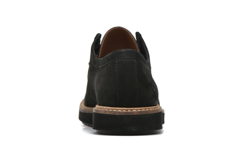 Chaussures à lacets Clarks Glick Bayview Noir vue droite