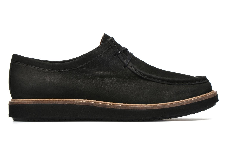 Chaussures à lacets Clarks Glick Bayview Noir vue derrière