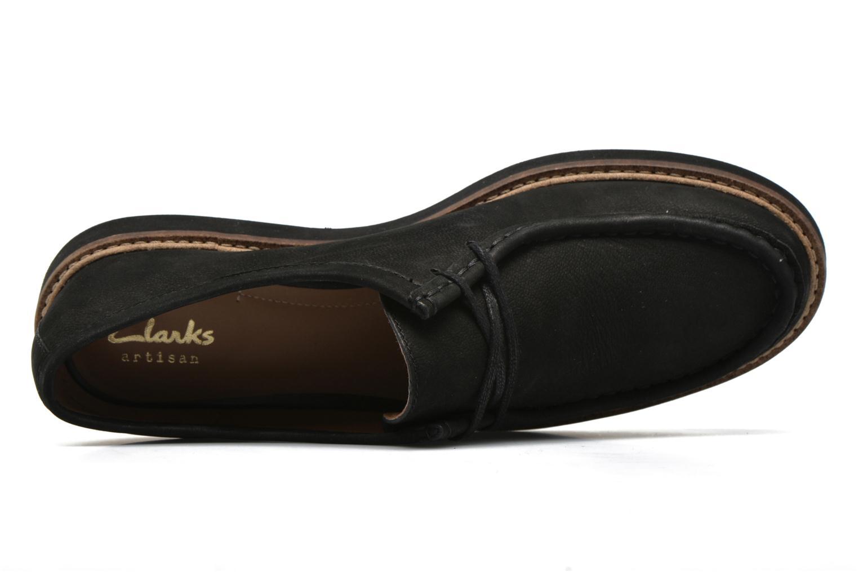 Chaussures à lacets Clarks Glick Bayview Noir vue gauche