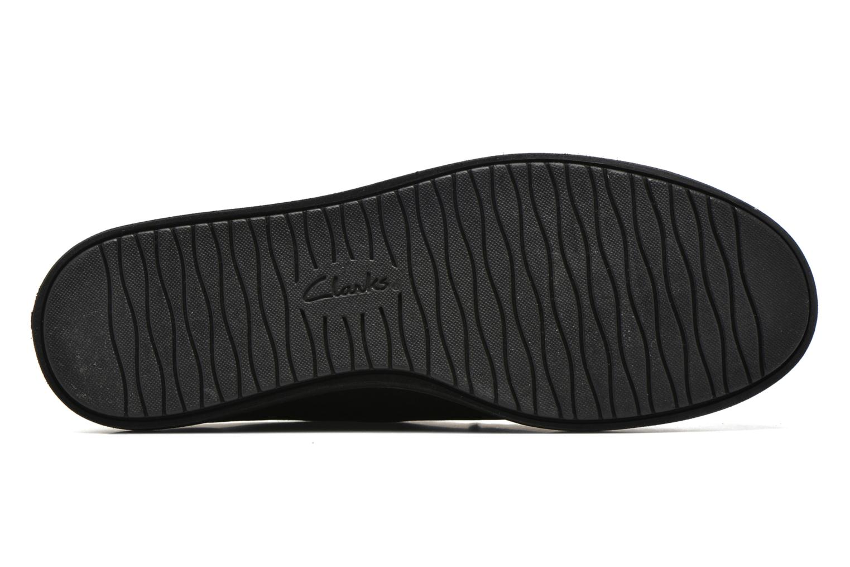 Chaussures à lacets Clarks Glick Bayview Noir vue haut