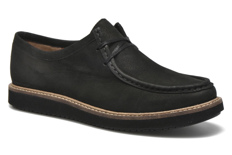 Chaussures à lacets Clarks Glick Bayview Noir vue détail/paire