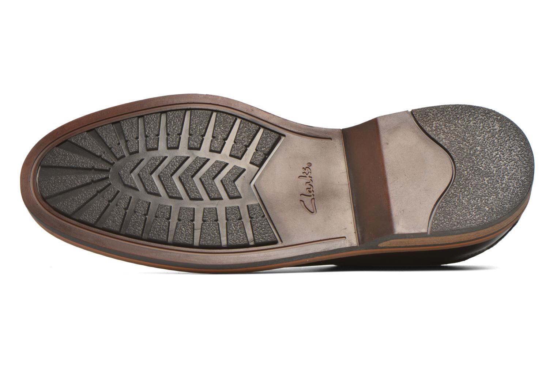 Chaussures à lacets Clarks Pitney Walk Marron vue haut