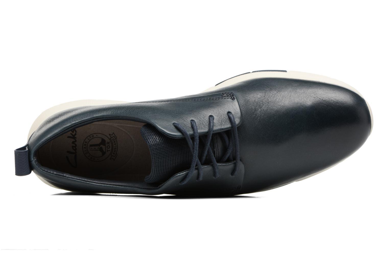 Chaussures à lacets Clarks Tynamo Walk Bleu vue gauche