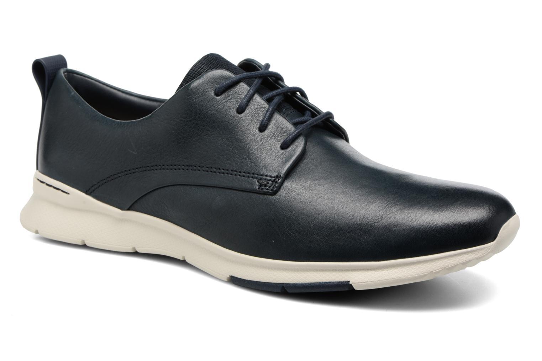 Chaussures à lacets Clarks Tynamo Walk Bleu vue détail/paire