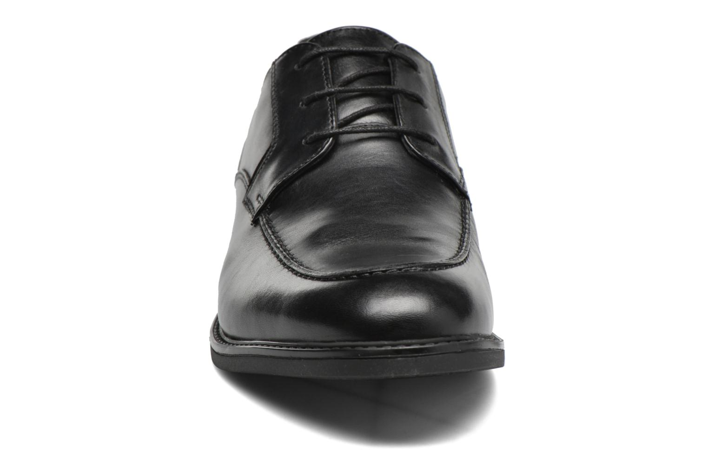 Chaussures à lacets Clarks Beckfield Apron Noir vue portées chaussures