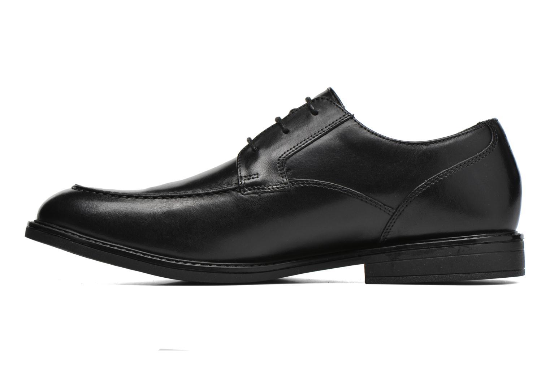 Chaussures à lacets Clarks Beckfield Apron Noir vue face