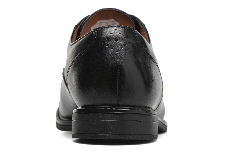 Chaussures à lacets Clarks Beckfield Apron Noir vue droite