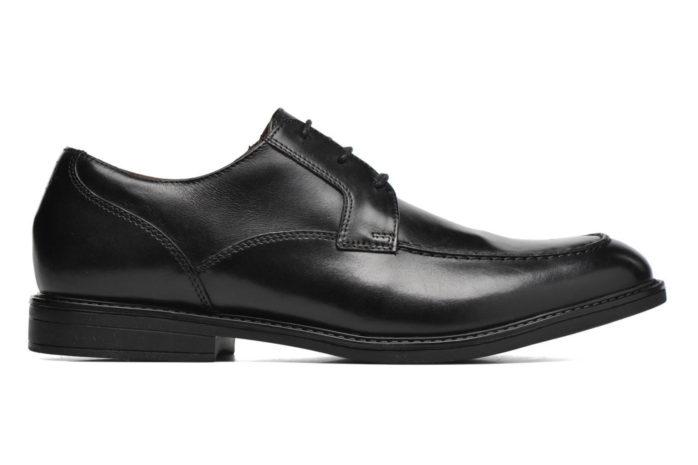 Chaussures à lacets Clarks Beckfield Apron Noir vue derrière