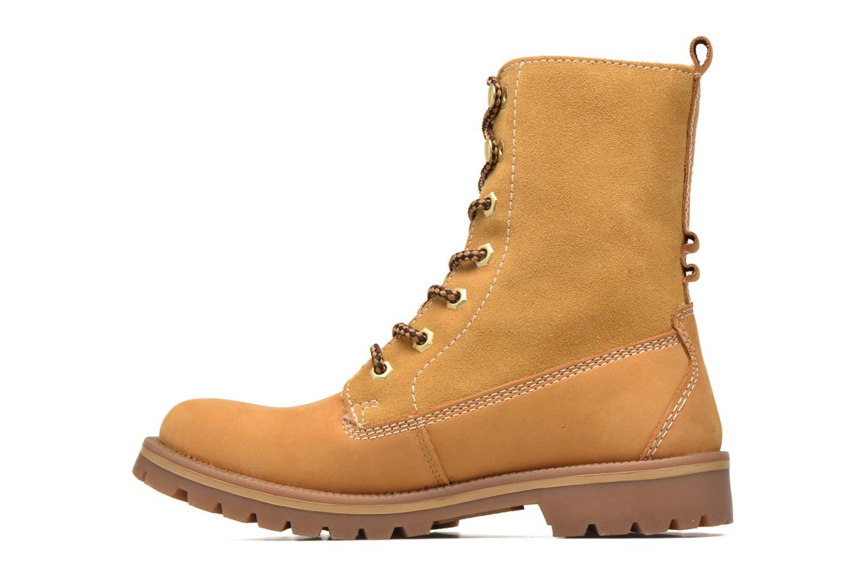 Bottines et boots Dockers Eliza Beige vue face