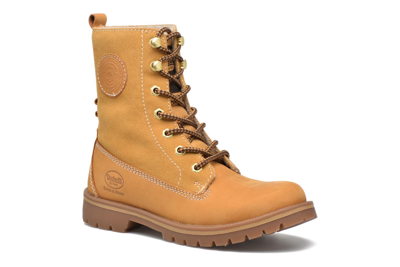 Bottines et boots Dockers Eliza Beige vue détail/paire