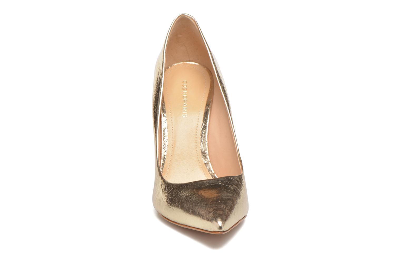 Escarpins COSMOPARIS Aelia/Fr Or et bronze vue portées chaussures